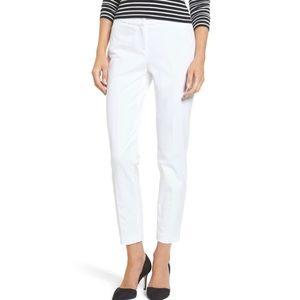 Halogen white ankle pants size 2